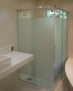 Box de Vidro para Banheiro Melhores Preços no Jardim América - Box em Vidro Temperado