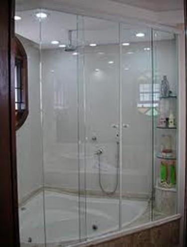 Box de Vidro para Banheiro Menor Valor no Capão Redondo - Box para Banheiro em São Paulo