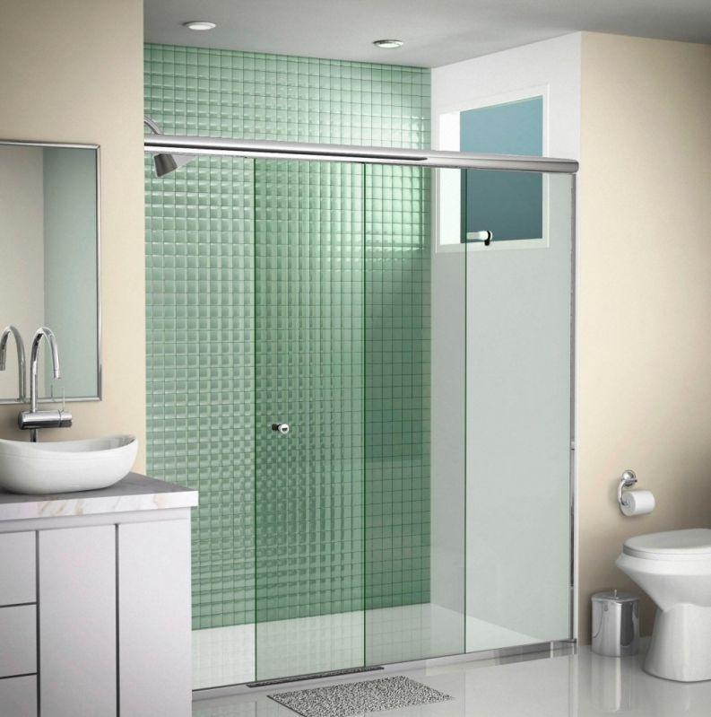Box de Vidro para Banheiro Valor Acessível no Jabaquara - Box para Banheiro em Guarulhos