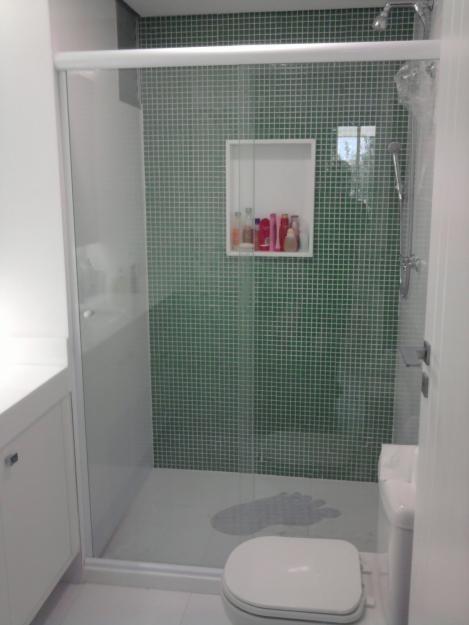 Box Frontal Incolor em Moema - Box para Banheiro na Zona Oeste