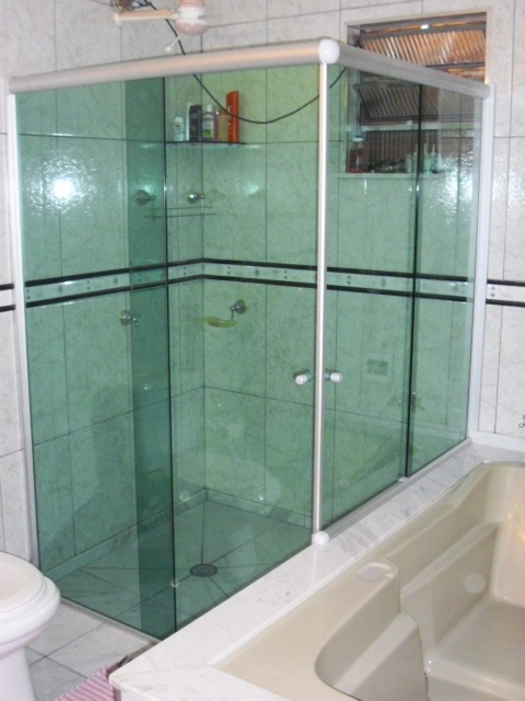 Box para Banheiro Menores Valores na Cidade Tiradentes - Box para Banheiro Vidro Temperado