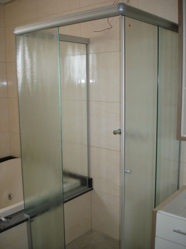 Box para Banheiros Melhores Valores no Morumbi - Box Vidro Temperado