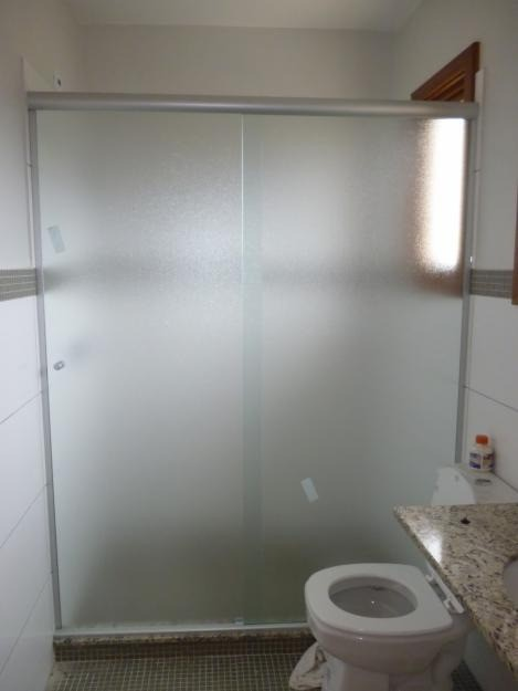 Box Vidro Pontilhado Reto em Interlagos - Box de Vidro para Banheiro