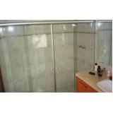 Box de vidro para banheiro com preço baixo em Santo André