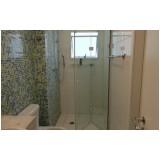 Box de vidro para banheiro melhor preço no Campo Grande