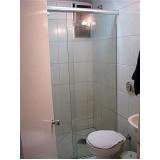 Box de vidro para banheiro melhor valor no Jardim Europa