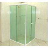 Box de vidro para banheiro melhores valores na Vila Curuçá