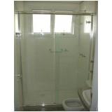 Box de vidro para banheiro menor preço na Água Funda