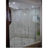 Box de vidro para banheiro menor valor em Moema