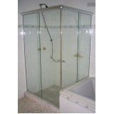 Box de vidro para banheiro menores valores no Campo Grande