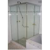 Box de vidro para banheiro menores valores no Jardim Ângela