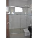 Box de vidro para banheiro no Jardim Paulistano