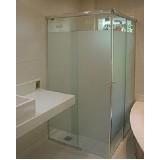 Box de vidro para banheiro onde adquirir no Aeroporto