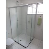 Box de vidro para banheiro onde obter no Sacomã