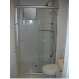 Box de vidro para banheiro preço baixo na Mooca
