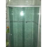 Box de vidro para banheiro preço no Jardim São Luiz