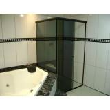 Box de vidro para banheiro preços em São Bernardo do Campo