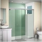 Box de vidro para banheiro valor acessível no Sacomã