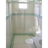 Box de vidro para banheiro valor na Vila Andrade
