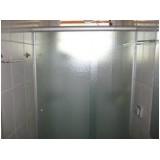 Box para Banheiro valor acessível no Brooklin