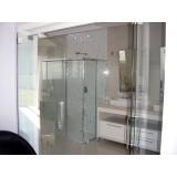 Box para banheiros menores preços em Santo Amaro