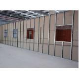 Divisória de drywall menor preço na Mooca