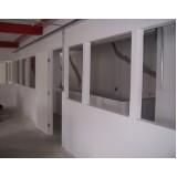 Divisória de Drywall preço acessível no Brooklin