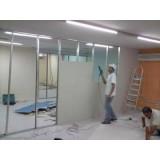 Divisória de Drywall valores no Ibirapuera