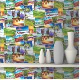 Papel para paredes onde fazer no Campo Grande